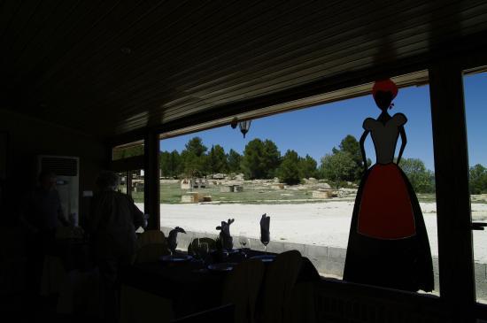Centro Regional de Interpretación del Arte Rupestre: Salon comedor