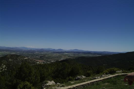 Moratalla, Spanien: Vista desde la terraza