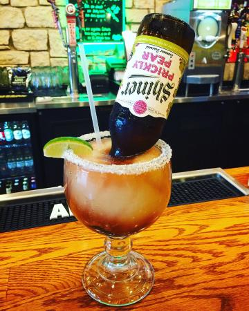 Alcoholic beverages served exclusively at the Portland location
