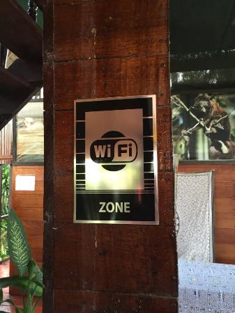 Wasai Maldonado Eco Lodge: Wasai Eco Lodge Wi-Fi Zone without Wi-Fi