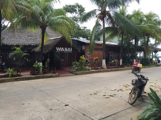 Wasai Maldonado Eco Lodge: Wasai Eco Lodge Street View
