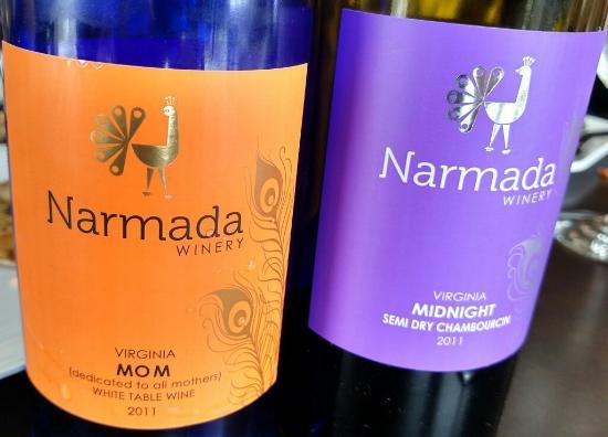 Amissville, Вирджиния: Narmada Winery