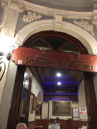 Palmiye Restaurant Istanbul : le palmiye restoran !!!