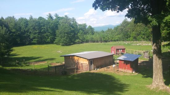 Sudbury, VT: View from the Guest House
