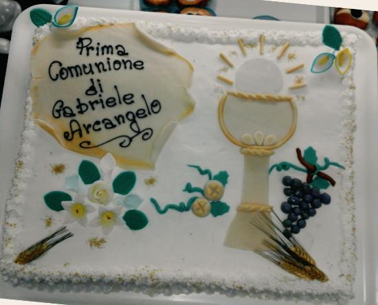 Bien connu TORTA PRIMA COMUNIONE - Foto di Pasticceria Della Nonna, Ceglie  VA75