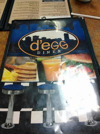 d'egg diner: Menu