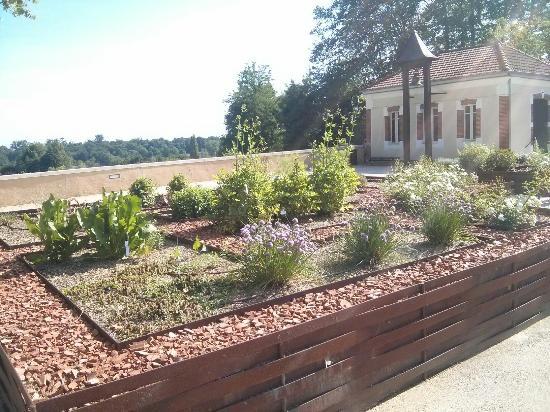 Crypte de Saint Girons: Jardins médiévaux autour de la crypte