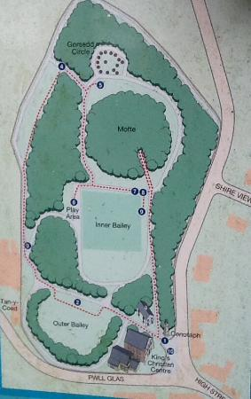 Map of Bailey Hill