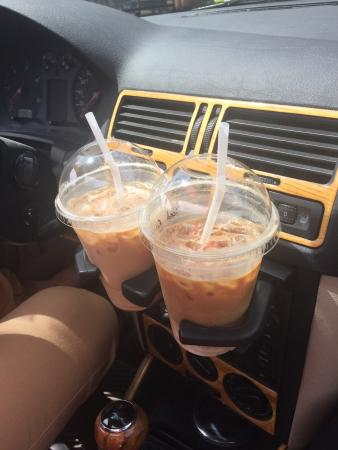 River City Coffee: Nice ice coffees. I can really recommend one with almond milk :)