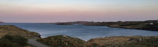 Tigh na Mara: Evening view from the room