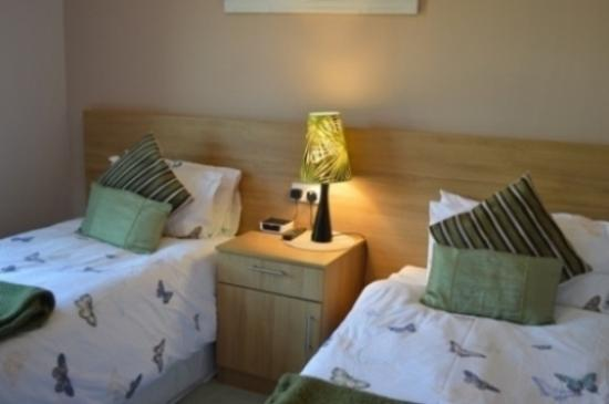 "Bluntisham, UK: ""Heron"" Twin bedded room (downstairs) with private bathroom with shower"