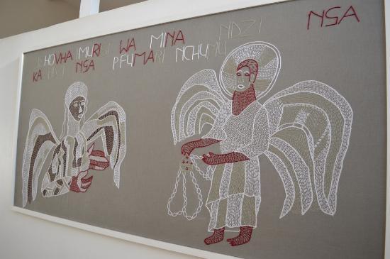 Louis Trichardt, Sydafrika: Mural in the Nwanedi suite