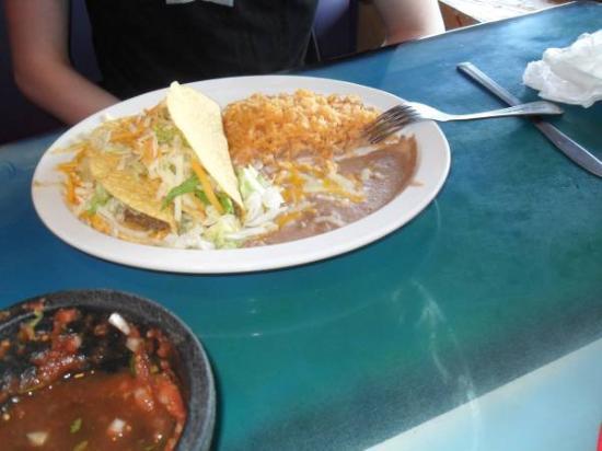 El Azteca Mexican Restaurant: Good dish