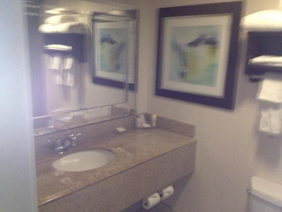 Liverpool, NY: Maplewood Suites - bathroom