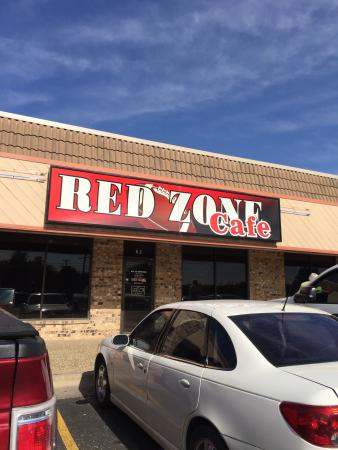 Red Zone Cafe Menu Lubbock Texas