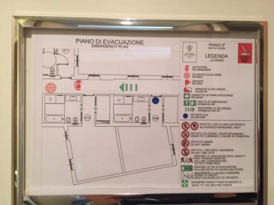 Grand Hotel Via Veneto: due camere superior vendute per superior + de luxe! attenzione!