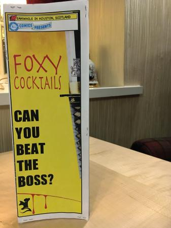 Houston, UK: foxy cocktails
