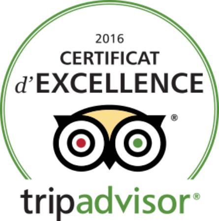 Le San Marco : Certificat d'Excellence 2016