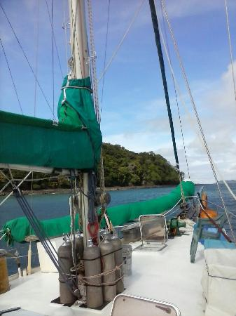 Santa Catalina, Panama: sailboat