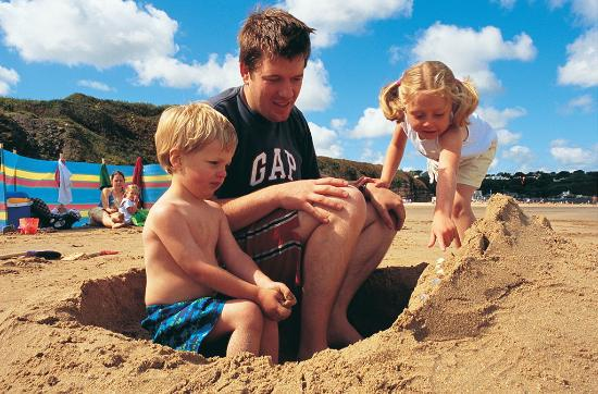 Llannerch Goch Luxury Cottages : Stunning beaches in the area