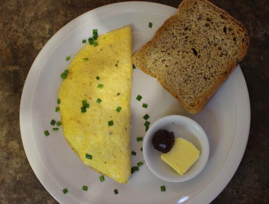 Las Salinas, Nicaragua: omelet del dia