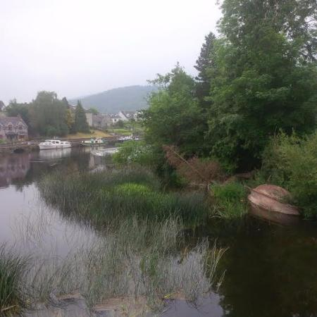 Graiguenamanagh, Ireland: phone pic doesn't do the beauty justice..