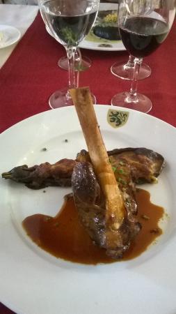 Bricquebec, Francia: Souris d'agneau