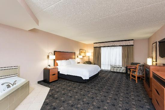 Hampton Inn and Suites Indianapolis - Fishers: King Whirlpool Room