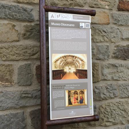 Museo Diocesano: het museum van buiten