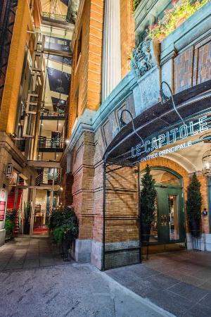 Hotel du Capitole: Façade