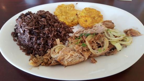 Rice and Bean Cuban Cuisine