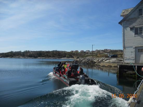 Oygarden Municipality, Norsko: Partindo para o criadouro