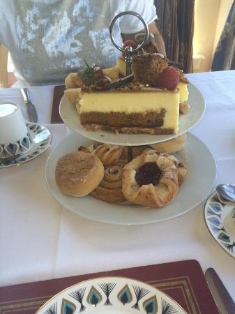The West Lothian Golf Club: amazing cheesecake