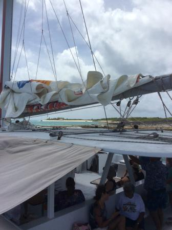 bahía de Simpson, Isla de San Martín: Lambada