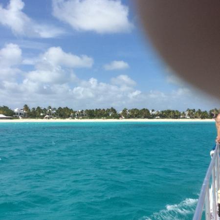 bahía de Simpson, Isla de San Martín: Maundays bay