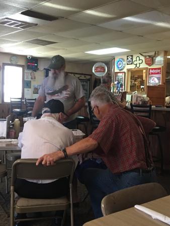 Comfort, Τέξας: Horseshoe Pub & Pizza