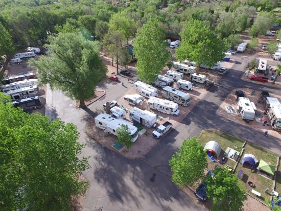 overview - Picture of Garden of the Gods RV Resort, Colorado Springs ...