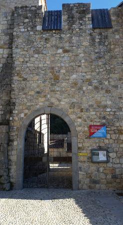 Province of Udine, Italien: L'ingresso al Castello di Ragogna e l'insegna dell'Opificium Librorum