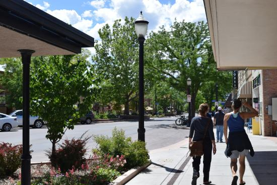Shopping downtown Grand Junction