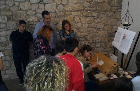 Province of Udine, Italia: Visite guidate al museo con dimostrazioni di scrittura antica