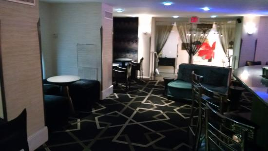 Topaz, a Kimpton Hotel: This is just one view of the bar and lobby, there was much more to it.