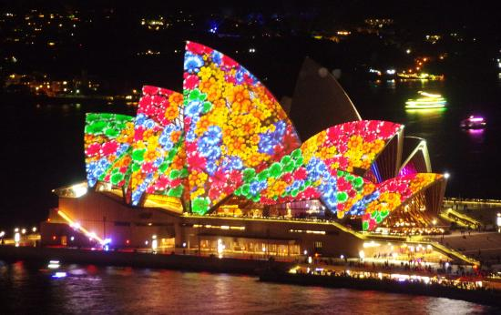 Lights Of On The Opera House Picture Shangri La