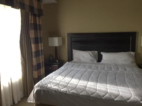 Homewood Suites by Hilton London Ontario: Very Comfortable Bed