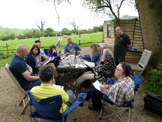 Brackley, UK: Wine tasting with James