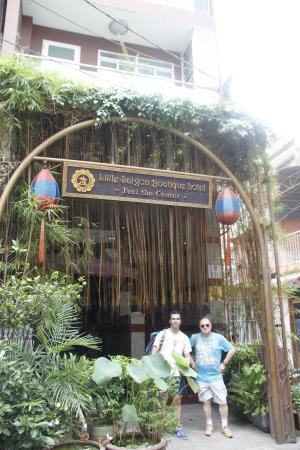 โรงแรมลิตเติล ไซง่อน บูติค โฮเต็ล: Entrada Hotel