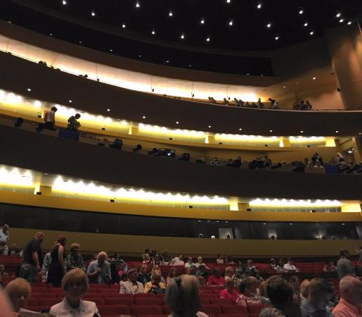 The Kentucky Center and Brown Theatre: behind row G