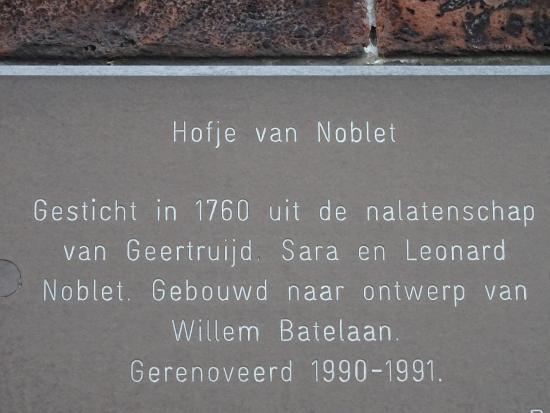 Hofje van Noblet