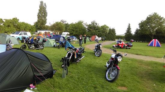 fabulous weekend camping with hinckley triumph owners club