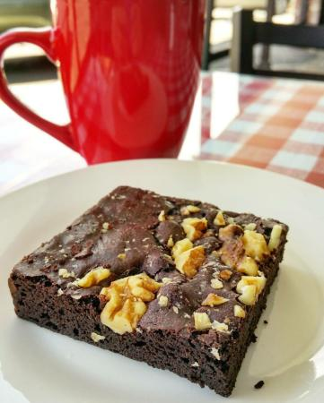 Wiley's Trattoria: Fresh baked Brownies