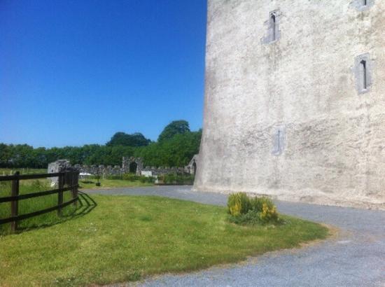 Kilmaine, Irlanda: Part of the beautiful castle grounds